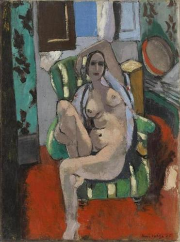 "Henri Matisse's ""Odalisque With a Tambourine."""